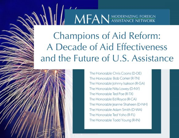 Champions of Aid Reform: A Decade of Aid Effectiveness and the Future of U.S. Assistance