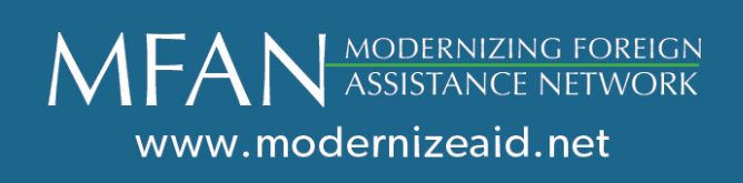MFAN Announces Launch of Revitalized Organization – with Returning and New Members Committed to Foreign Aid Effectiveness